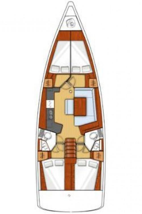 Bootsverleih Peloponnese günstig Oceanis 45
