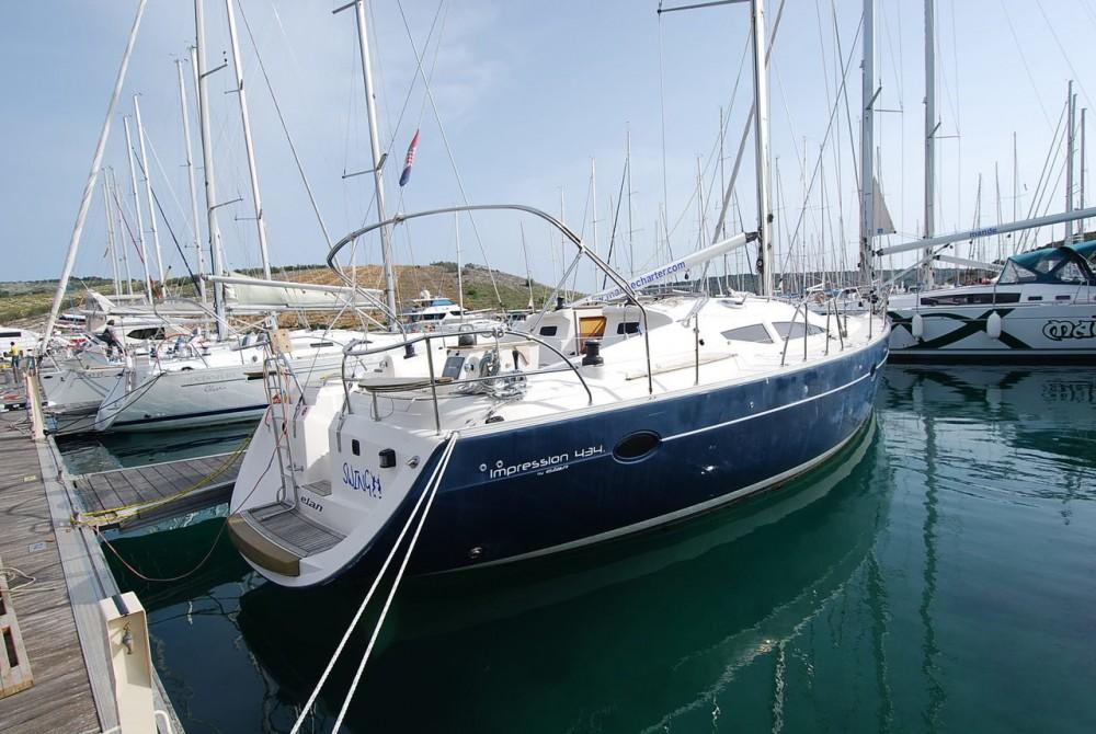 Segelboot mieten in Seget Donji - Elan Elan 434 Impression