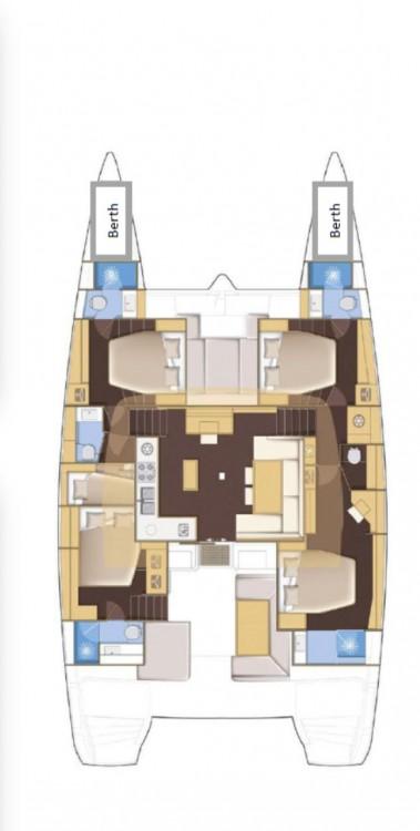 Yacht-Charter in Seget Donji - Lagoon Lagoon 52 - 5 + 2 cab. auf SamBoat