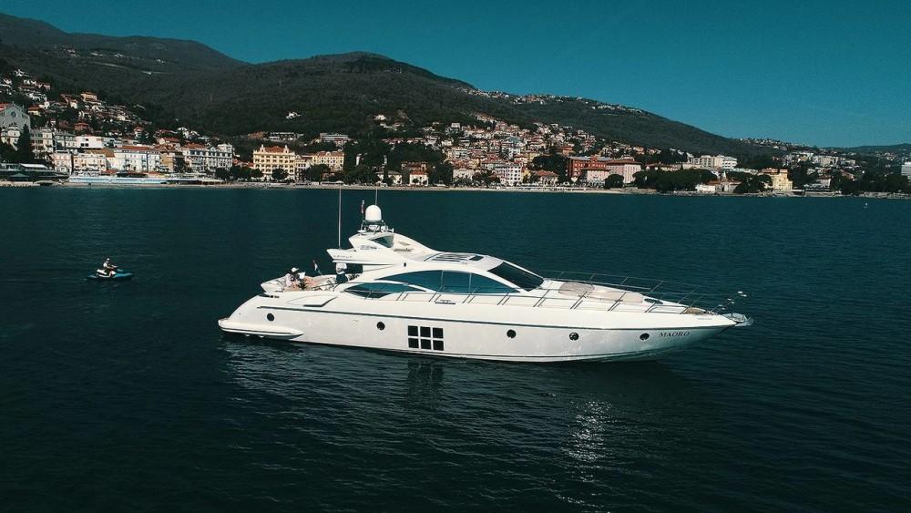 Vermietung Yachten Azimut-Benetti-Yachts mit Führerschein