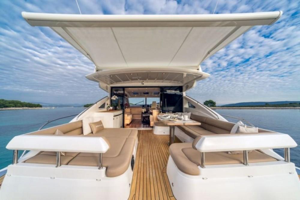 Motorboot mit oder ohne Skipper Princess-Yachts mieten in Split