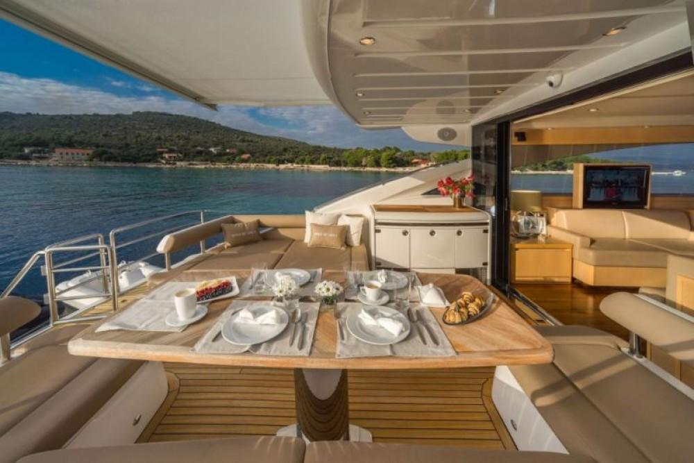 Ein Princess-Yachts Princess V65 - 3 cab. mieten in Split