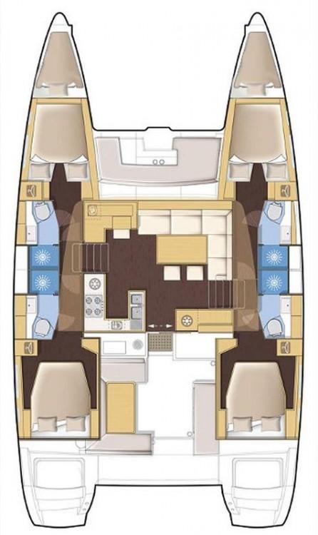 Katamaran mit oder ohne Skipper Lagoon mieten in Portocolom