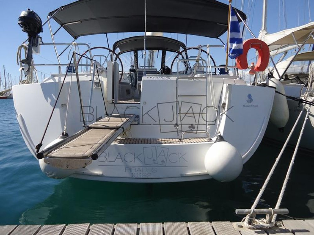 Ein Bénéteau Oceanis 54 - 4 cab. mieten in Peloponnese