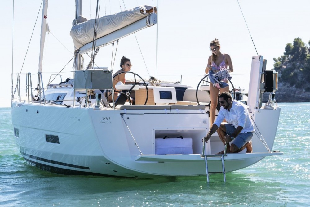 Bootsverleih Dufour Dufour 390 GL Kroatien Samboat