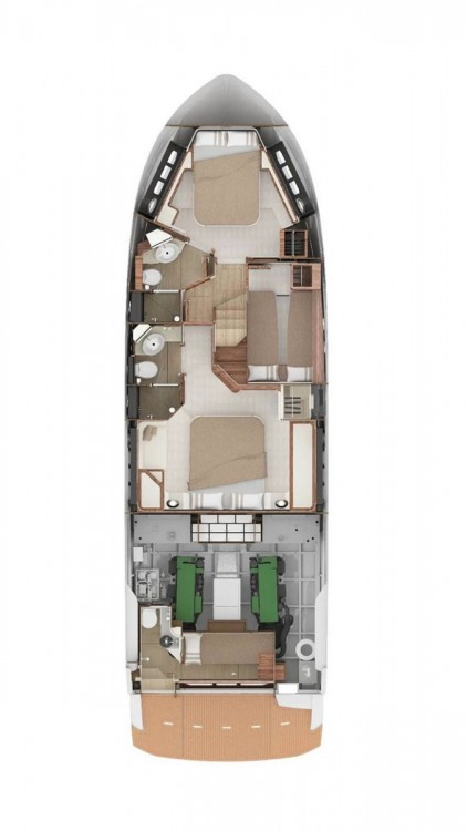 Bootsverleih Absolute Yachts Absolute 50 Fly Primorsko-Goranska Županija Samboat