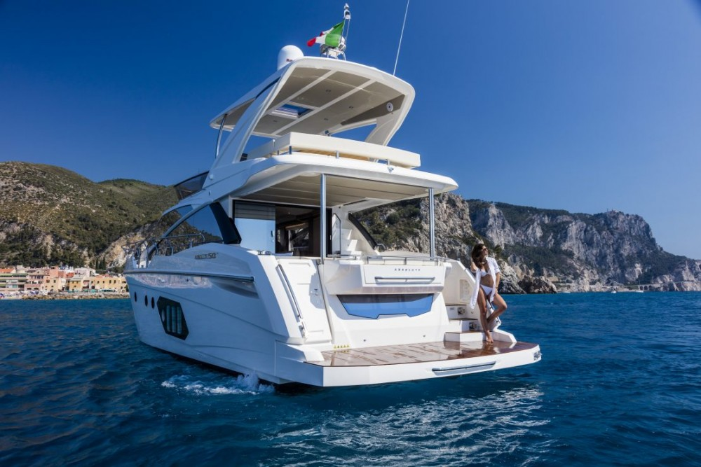 Absolute Yachts Absolute 50 Fly zwischen Privatpersonen und professionellem Anbieter Primorsko-Goranska Županija