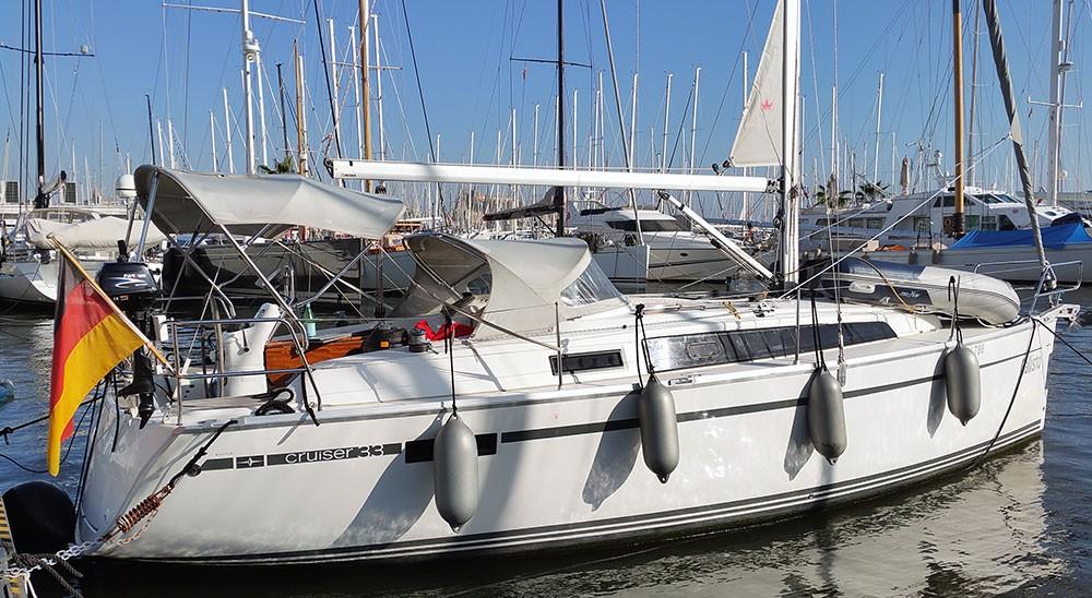 Bavaria Cruiser 33 zwischen Privatpersonen und professionellem Anbieter Playa de Palma