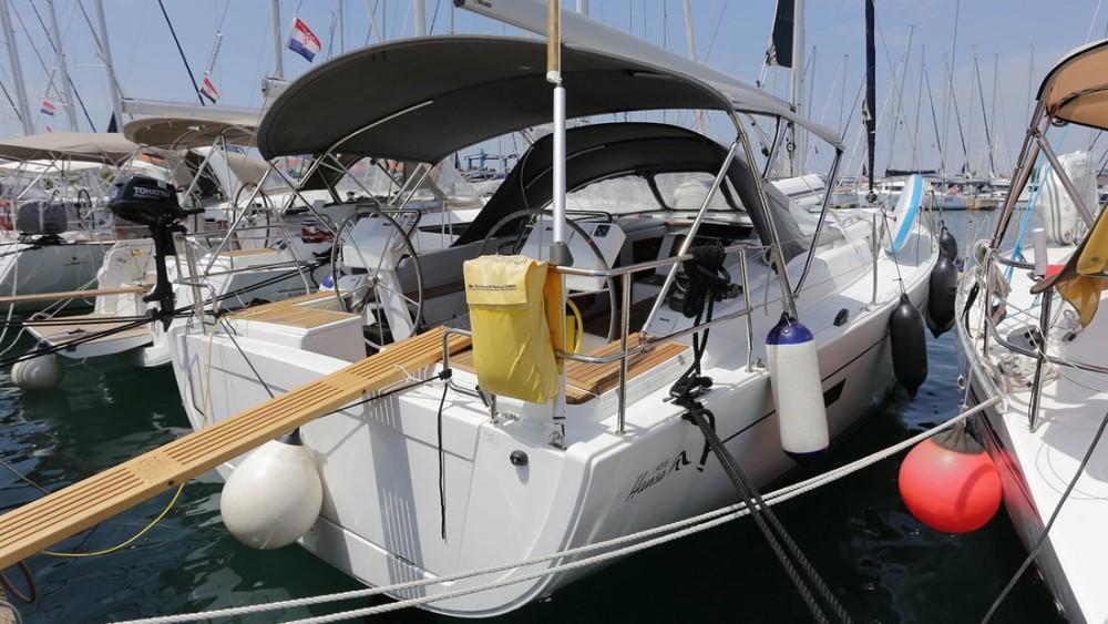 Hanse Hanse 455 zwischen Privatpersonen und professionellem Anbieter Split