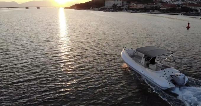Schlauchboot mieten in Trogir - Scanner Srl.  Scanner Envy 710