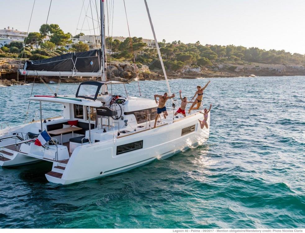 Katamaran mieten in Peloponnese - Lagoon Lagoon 40 - 4 + 2 cab