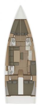 Bootsverleih Trogir günstig Dufour 460 - 5 cab.