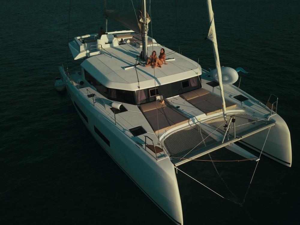 Bootsverleih Kroatien günstig Dufour 48 Catamaran - 5 + 1 cab.