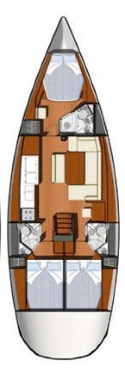 Segelboot mieten in  - Jeanneau Sun Odyssey 44i - 3 cab.