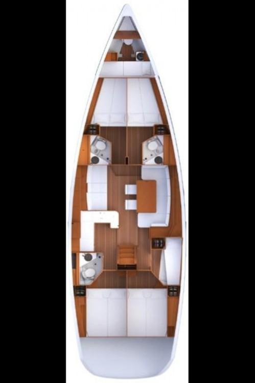 Yacht-Charter in Kroatien - Jeanneau Jeanneau 53 auf SamBoat