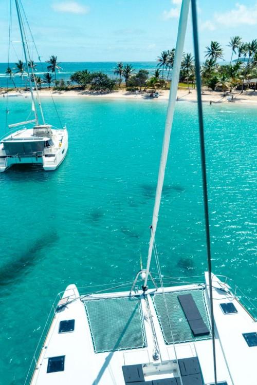 Ein Lagoon Lagoon 52 mieten in Martinique
