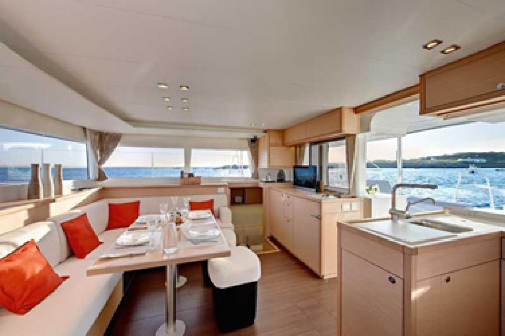 Bootsverleih St. Martin (Frankreich) günstig Lagoon 450