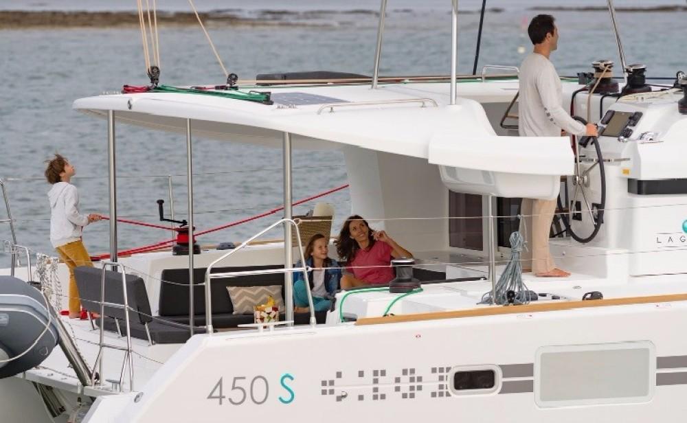 Yacht-Charter in St. Martin (Frankreich) - Lagoon Lagoon 450 auf SamBoat