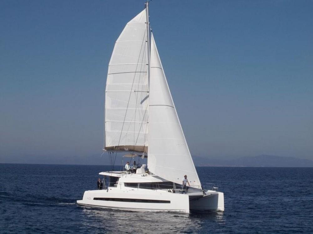 Katamaran mit oder ohne Skipper Catana mieten in Neapel