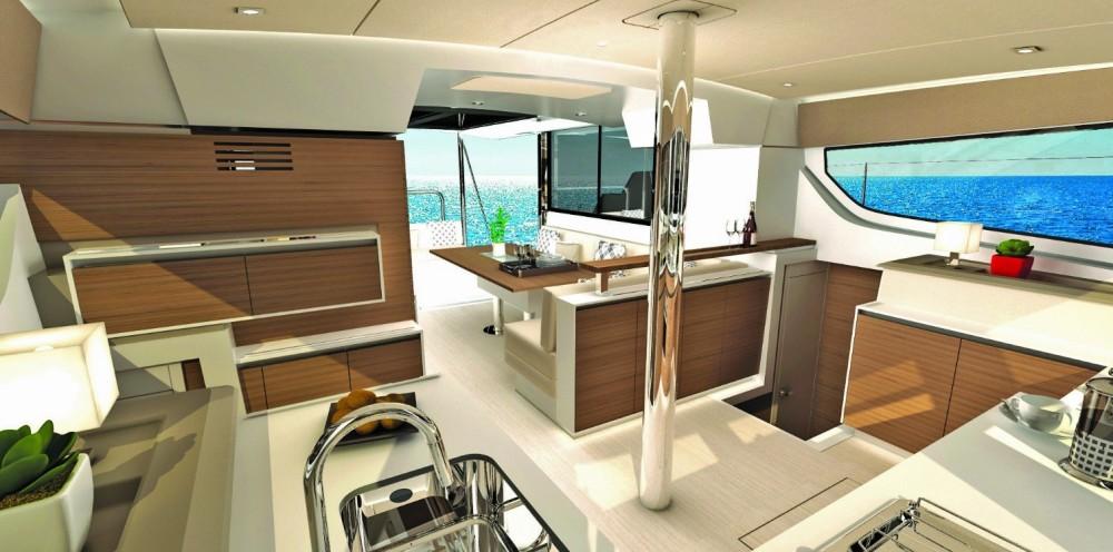 Bootsverleih Bali Catamarans CATSPACE Göcek Samboat
