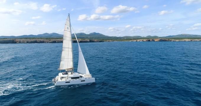 Katamaran mit oder ohne Skipper Lagoon mieten in Raiatea