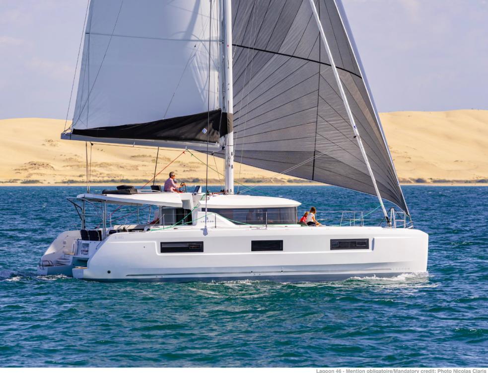 Katamaran mit oder ohne Skipper Lagoon mieten in Trau