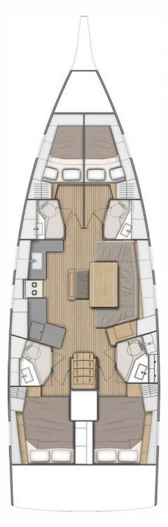 Yacht-Charter in Biograd na Moru - Bénéteau Oceanis 46.1 - 4 cab. auf SamBoat