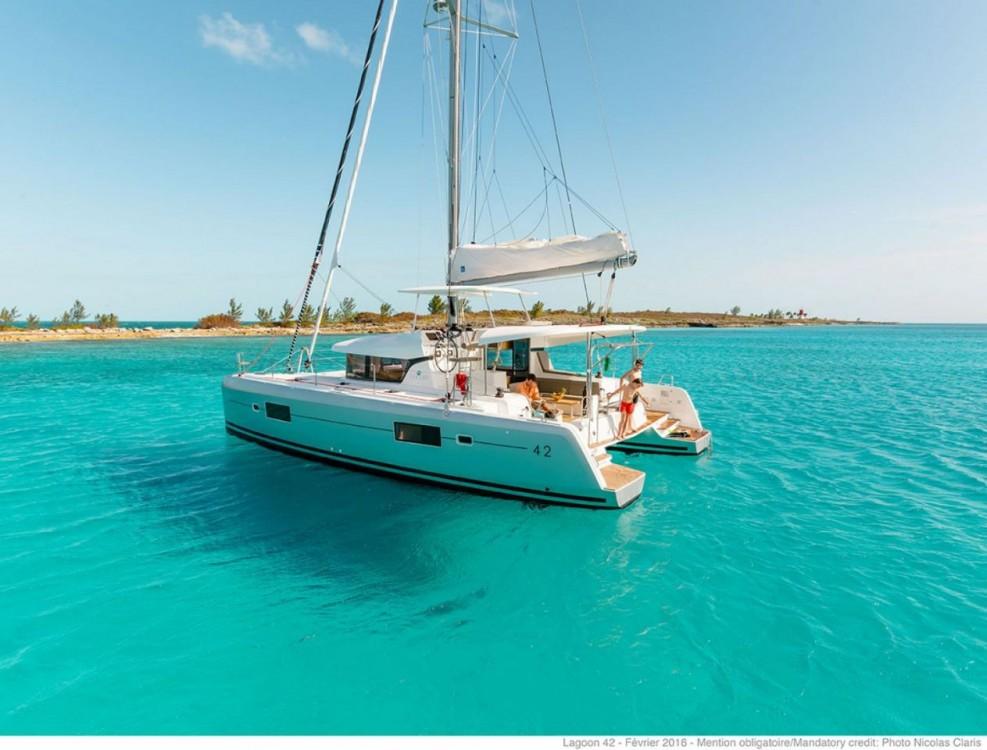 Katamaran mit oder ohne Skipper Lagoon mieten in Tortola
