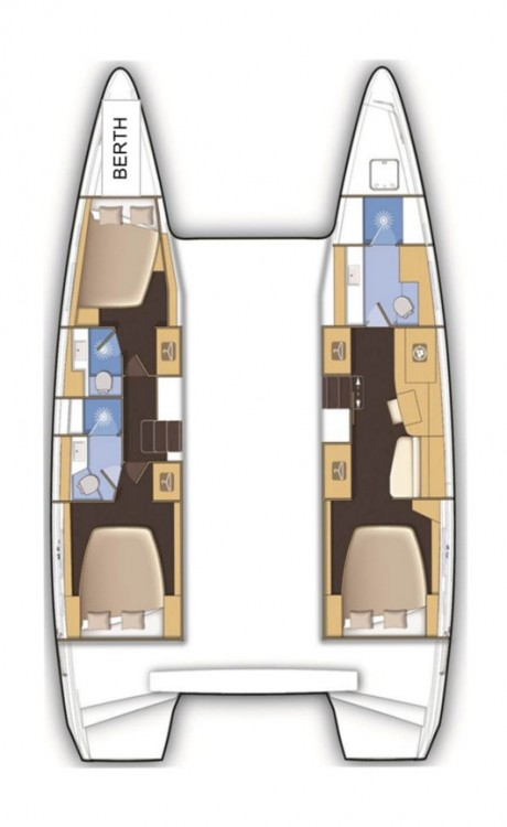 Bootsverleih Tortola günstig Lagoon 42 - 3 + 1 cab.