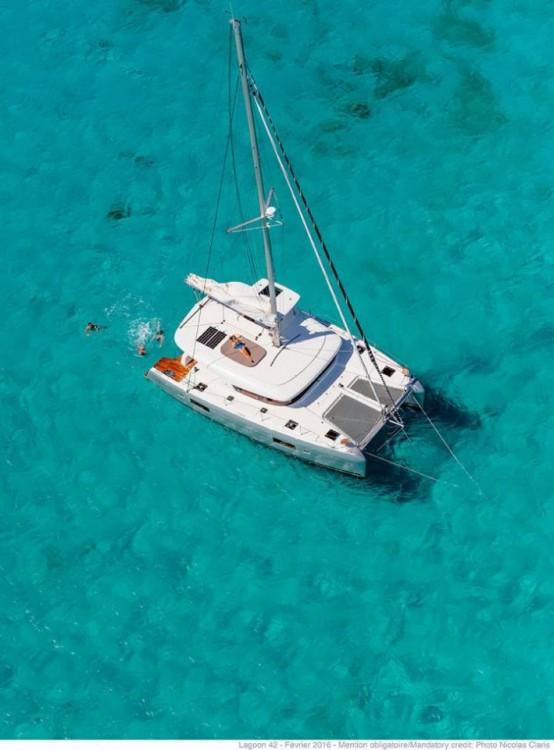 Katamaran mieten in Tortola - Lagoon Lagoon 42 - 3 + 1 cab.
