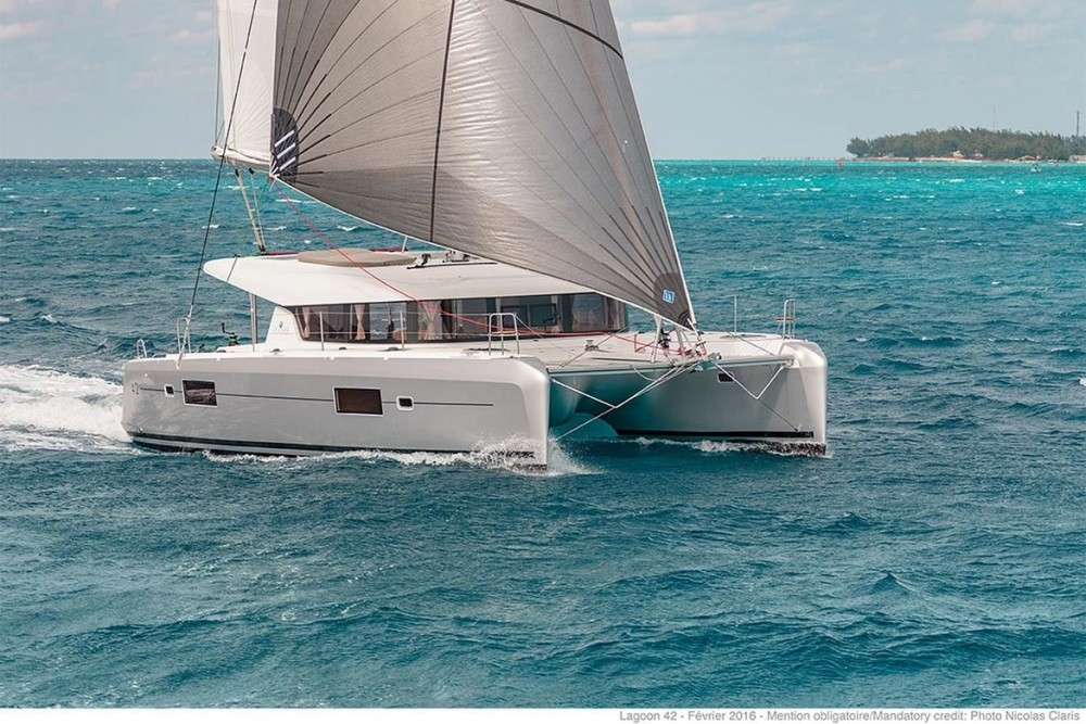 Lagoon Lagoon 42 - 3 + 1 cab. zwischen Privatpersonen und professionellem Anbieter Tortola