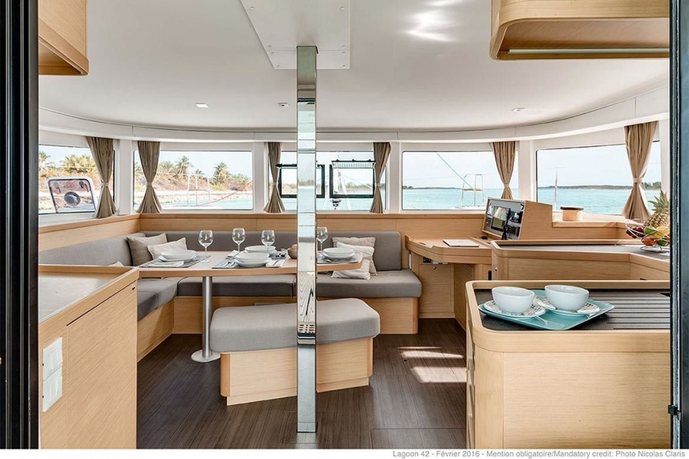 Bootsverleih Lagoon Lagoon 42 - 3 + 1 cab. Tortola Samboat