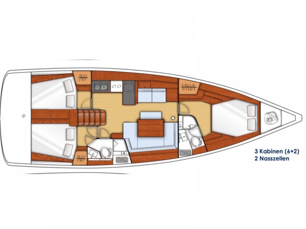 Bootsverleih Bénéteau Oceanis 45 Marmaris Samboat