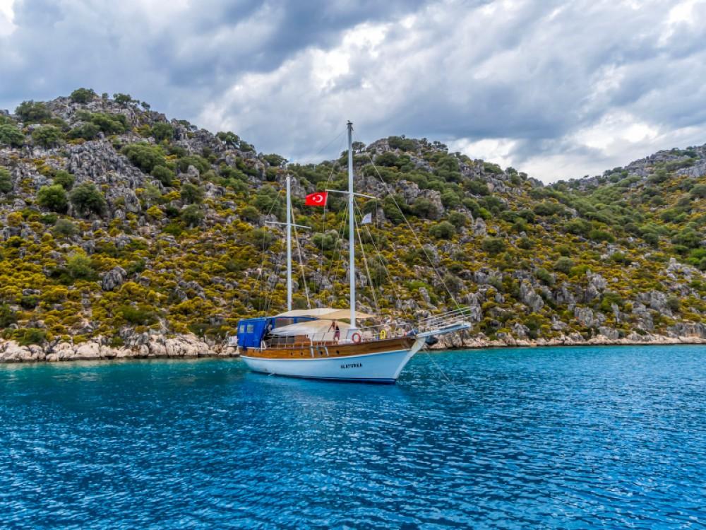 Vermietung Segelboot  mit Führerschein