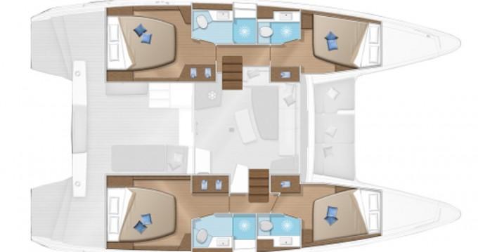 Bootsverleih Lagoon Lagoon 42 Lefkada (Island) Samboat