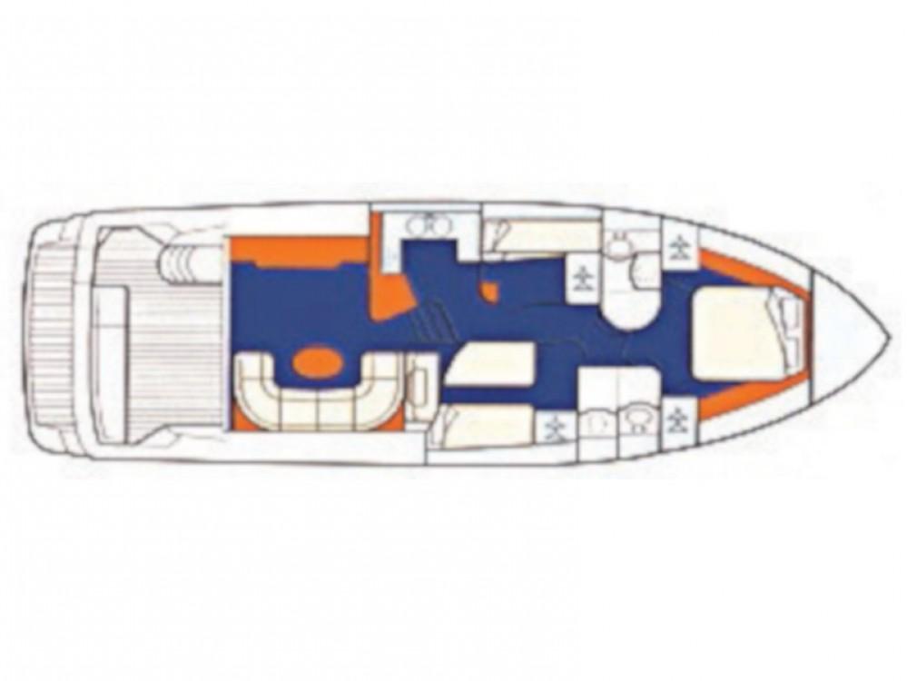 Motorboot mieten in Primošten - Princess Princess 480