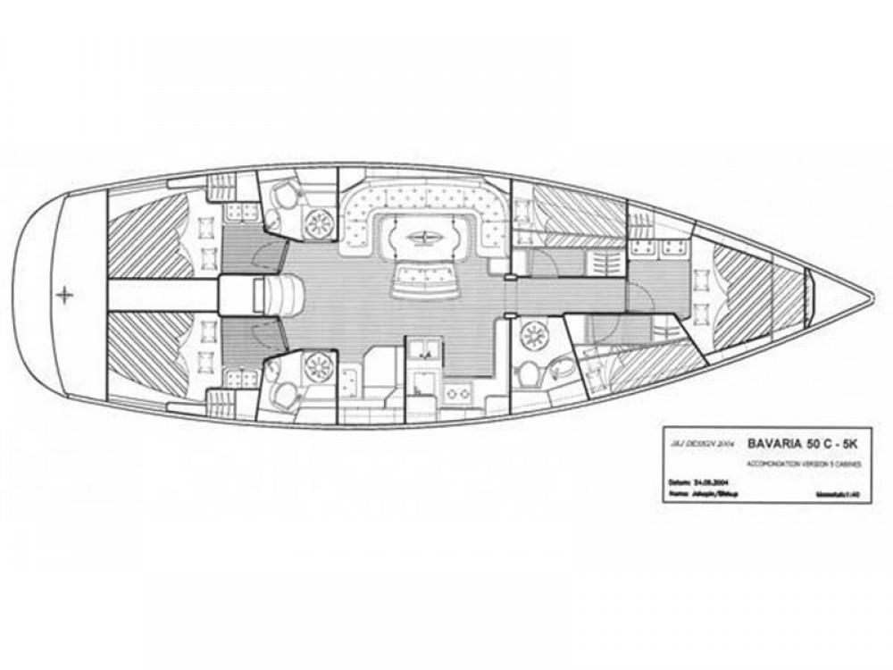 Bavaria Bavaria 50 Cruiser zwischen Privatpersonen und professionellem Anbieter Palma