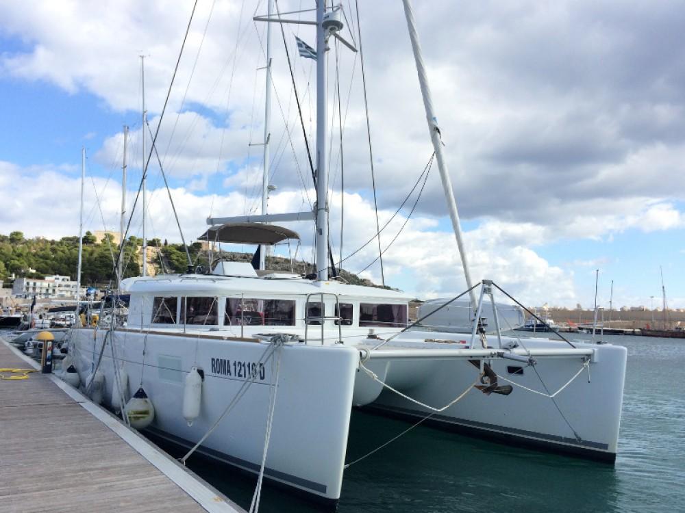 Lagoon Lagoon 450 zwischen Privatpersonen und professionellem Anbieter Torre del Greco