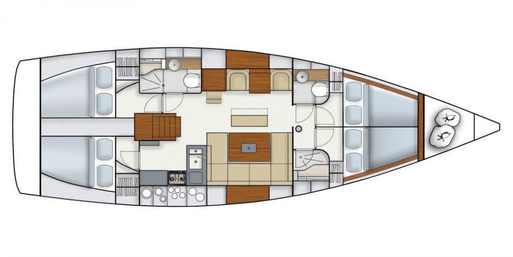 Segelboot mieten in Komolac - Hanse Hanse 445