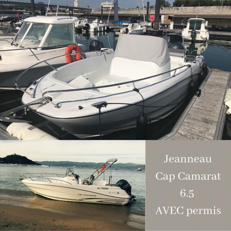 Yacht-Charter in Belvédère-Campomoro - Jeanneau Cap Camarat 6.5 CC Style auf SamBoat