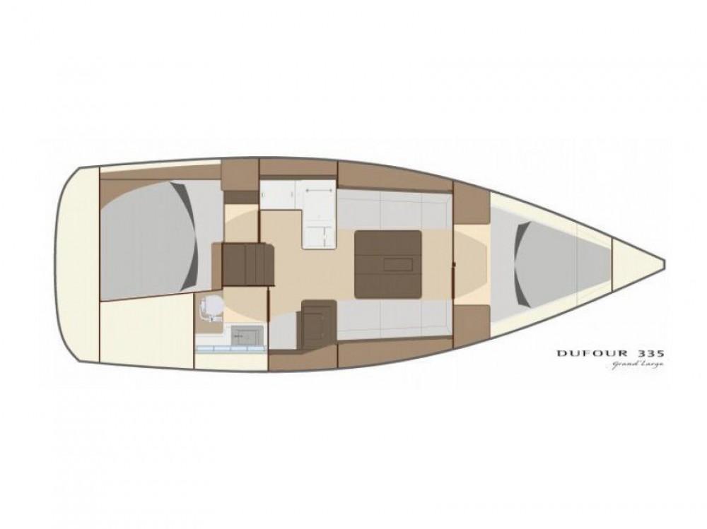 Yacht-Charter in Šibenik - Dufour Dufour 335 GL auf SamBoat