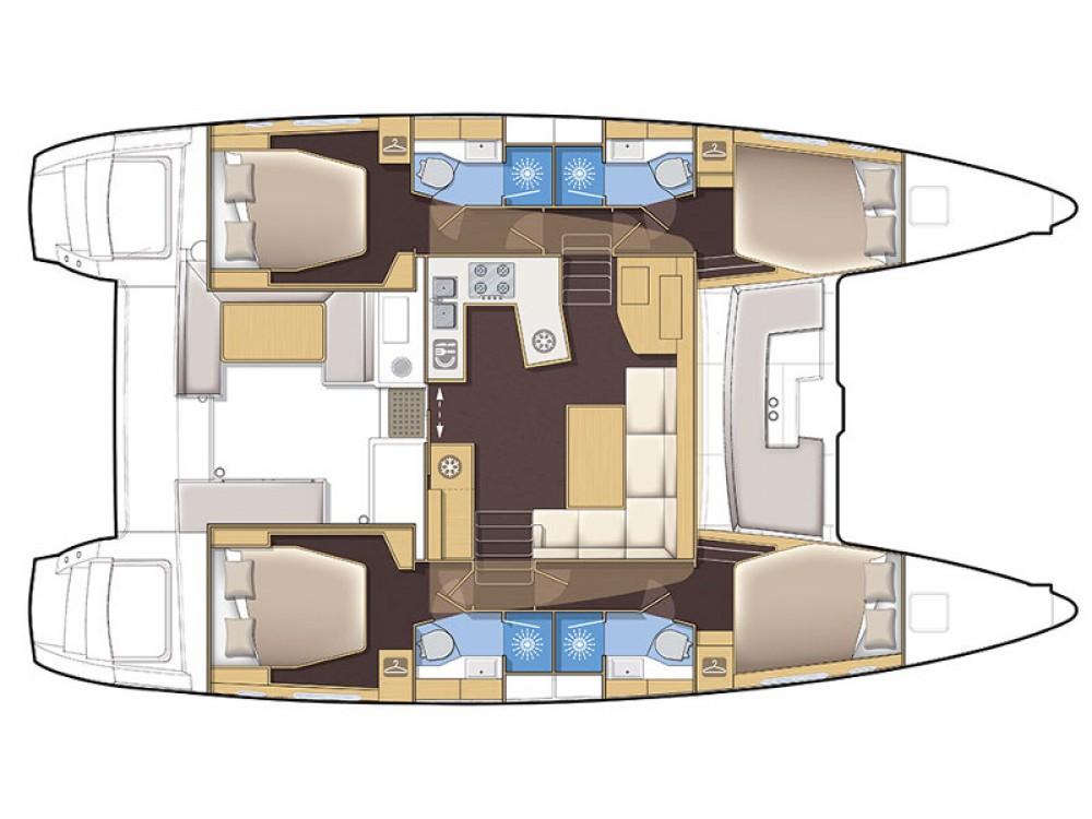 Yacht-Charter in Sukošan - Lagoon Lagoon 450 auf SamBoat