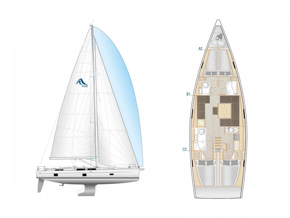 Yacht-Charter in Lavrion - Hanse Hanse 458 auf SamBoat