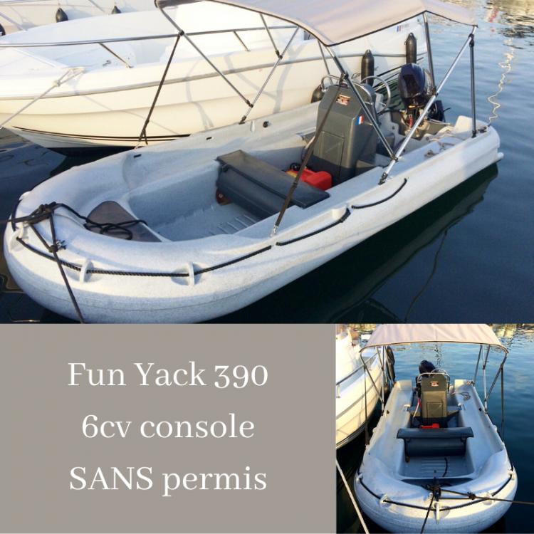 Bootsverleih Funyak 390 console Belvédère-Campomoro Samboat
