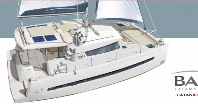 Katamaran mit oder ohne Skipper Bali Catamarans mieten in Vieux-Port de Marseille