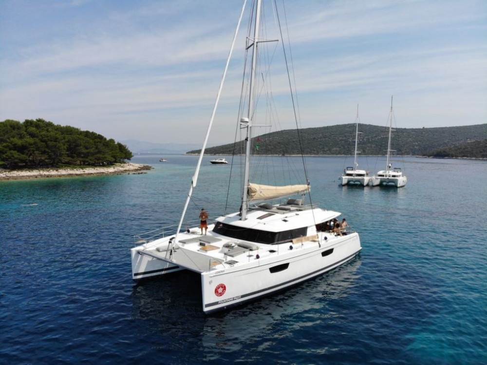 Yacht-Charter in Trogir - Fountaine Pajot Saba 50 auf SamBoat