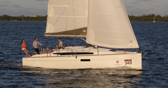 Jeanneau Sun Odyssey 349 zwischen Privatpersonen und professionellem Anbieter Korfu