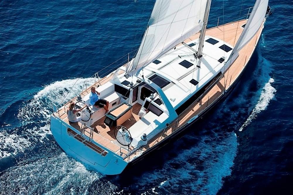 Yacht-Charter in Peloponnes, Westgriechenland und Ionische Inseln - Bénéteau Oceanis 48 auf SamBoat