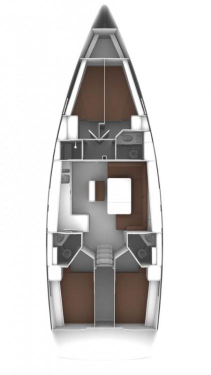 Segelboot mieten in Volos - Bavaria Bavaria Cruiser 46 - 4 cab.