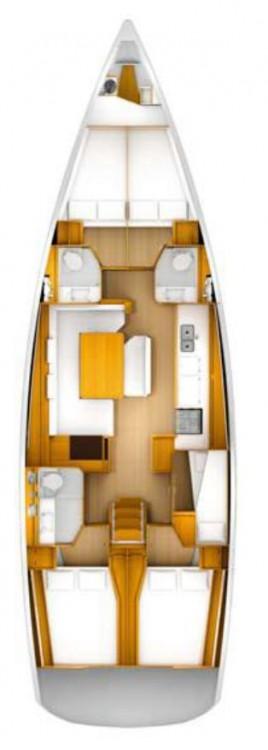 Bootsverleih Jeanneau Sun Odyssey 509 - 5 + 1 cab. Kroatien Samboat